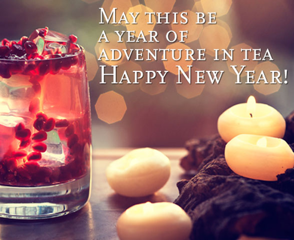 Tea Cards for  New Year