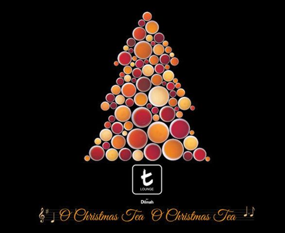 Tea Cards for Christmas