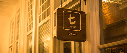 t-Lounge by Dilmah at Brunei