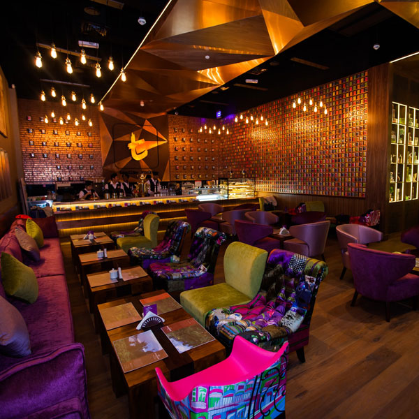Dilmah Launched t-Lounge at IBN Battuta Mall, Dubai