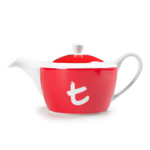 t Series t-Pot-Cherry Red