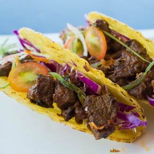 Rendang Taco