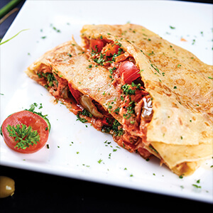 Spicy Chicken Original Crepe