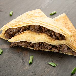 Spicy Mutton Crepe