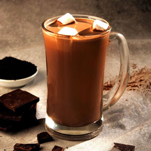 Earl Grey t Inspired Hot Chocolate
