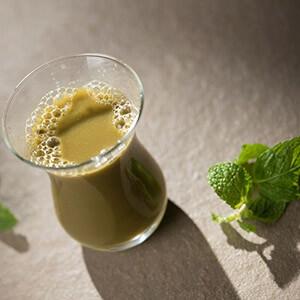 Matcha Mint & Lime Almond Milk Shooter