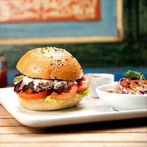 Lamb Kofta Burger