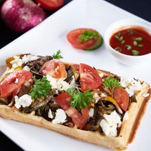 Grilled Zucchini, Fetta And Tomato