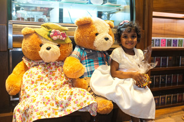 Teddy bear Tea Party at Arcade Independence Square