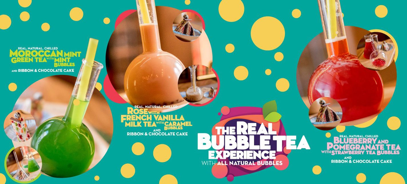 The Real Bubble Tea Experience!
